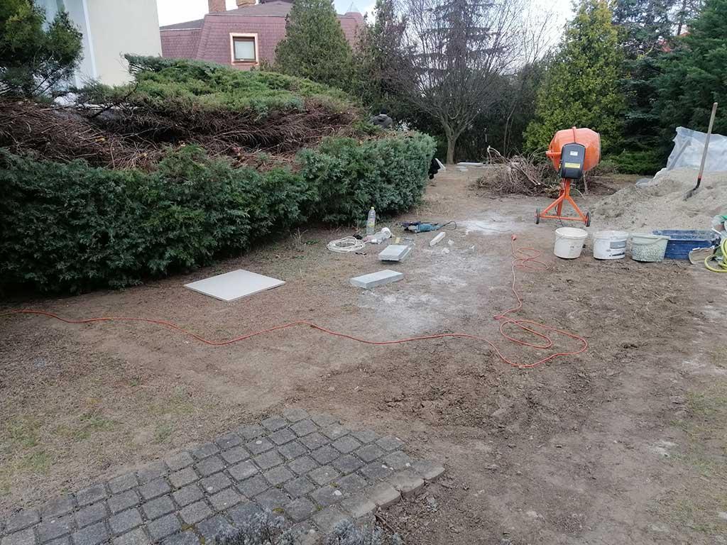 kert felújítás előtte állapot